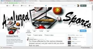 analyzed sports twitter